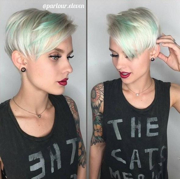 Beautiful Sweeps For Short Hair Hair Color Ideas