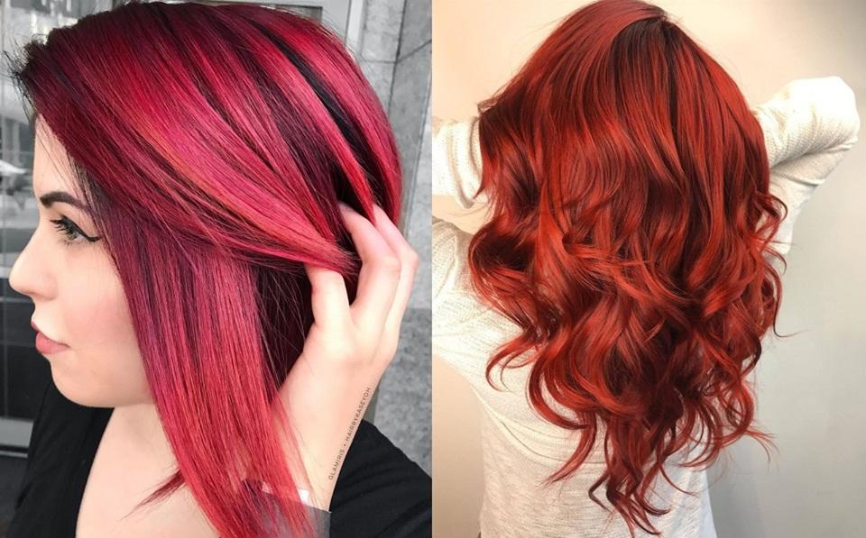 Autumn New Hair Colors: Inspiring Models Hair Color Ideas