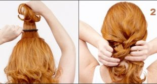 How to style your hair in the morning - Easy hairstyle in the morning Morning Hairstyles