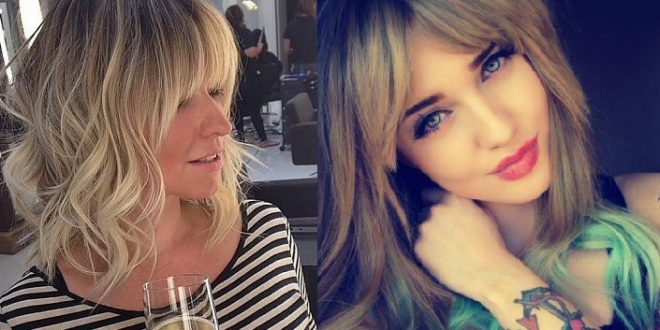 Impressive Colors and Modern Cups With Bangs: A Trend Not To Miss! Hair Color Ideas