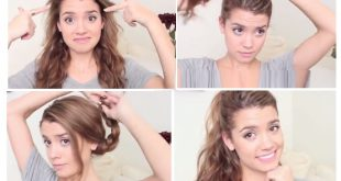 That's The Hairstyles Solutions For The Missed Mornings! Fast Simple Hairstyles