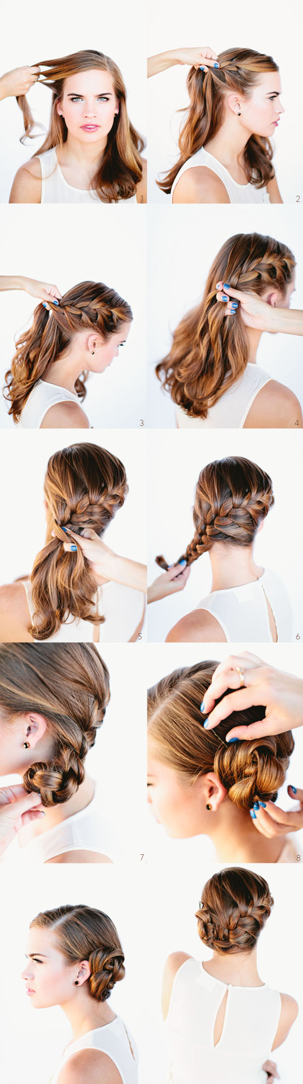 40 Simple and Fast Hairstyles For All Hair Types New Hairstyle Trends