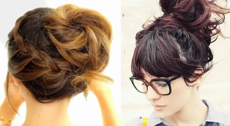 15 Beautiful Chignons For Medium Hair Hairdressing Medium Hairstyles