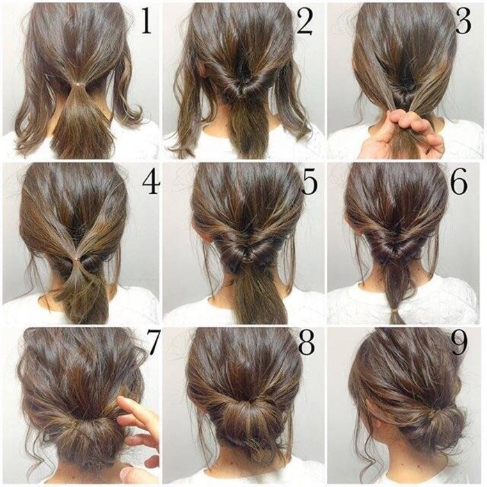 Simple and Fast Hairstyles for Everyday Fast Simple Hairstyles