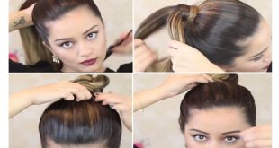 Simple and Fast Hairstyles on Greasy Hair: Your Greasy Hair Are No More A Worry Everyday Hairdressing