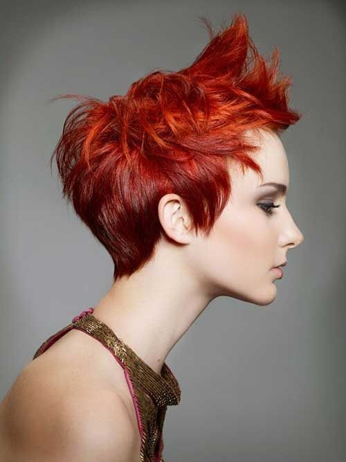 Here is the best color for your short hair! Hair Color Ideas