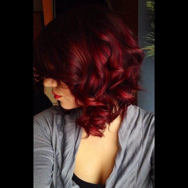 Women Who Wear This Color Are The Most Charming - 15 Awesome Models Hair Color Ideas