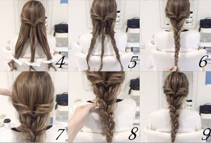 braided bun hair tutorial: the most beautiful tutos New Hairdressing