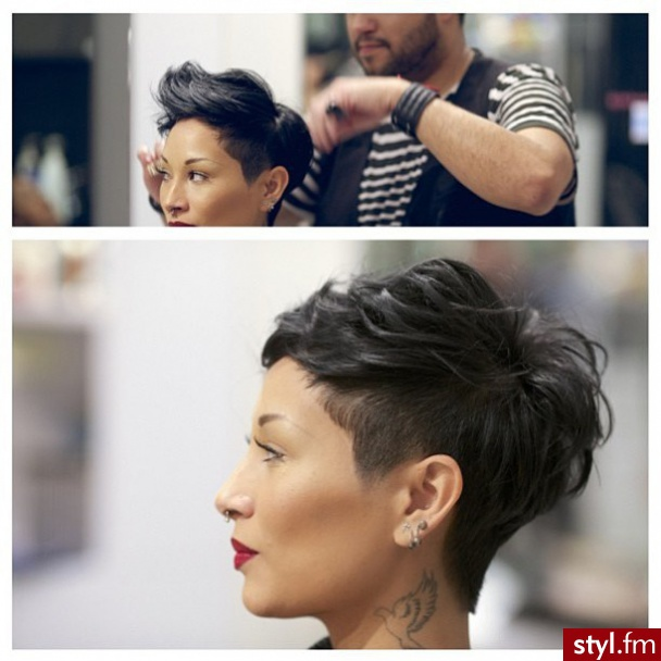 New Women's Fashion Short Suits Hair Cut Trends