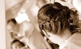 Simple and fast hairstyle for a romantic evening-Photo hairstyle for romantic evening Hairstyles For Evening