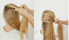Easy Hairstyle - 3 Easy Hairstyle Styles Easy Hairstyles