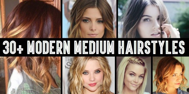 30 Impressive mid-length hair styles Hair Color Ideas