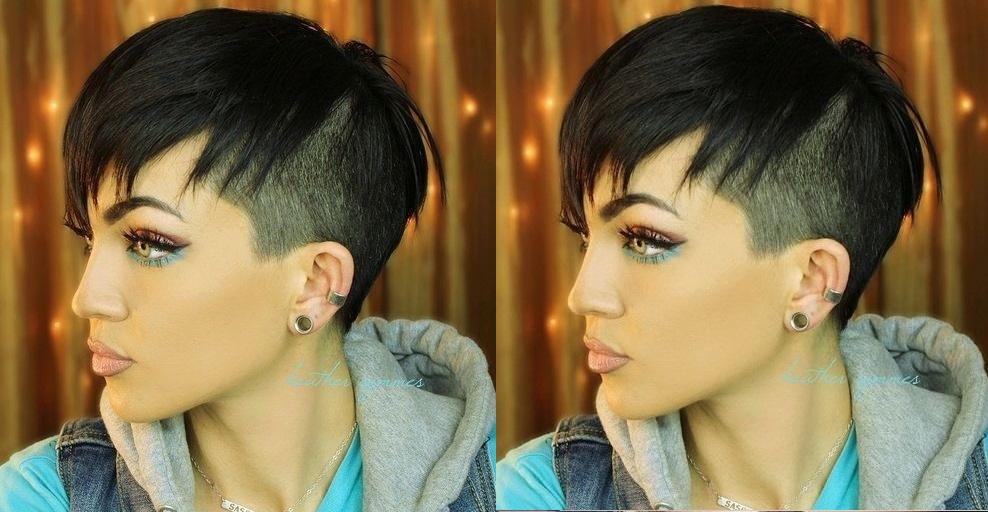 16 New Undercut Models That Will Make You Wanna Adopt This Beautiful Hairstyle! Hair Cut Trends