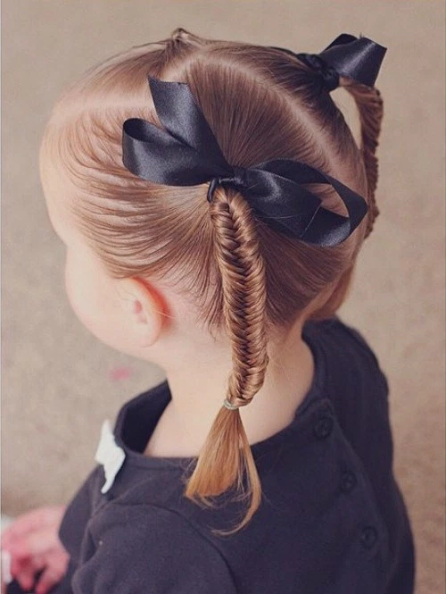 Hairdressing Little Girl For School - 20 Models Hairstyles For Little Girls