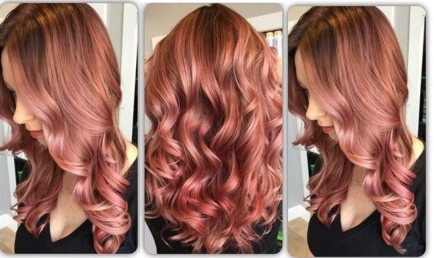 Rose Gold New: Our Best Proposals Hair Color Ideas