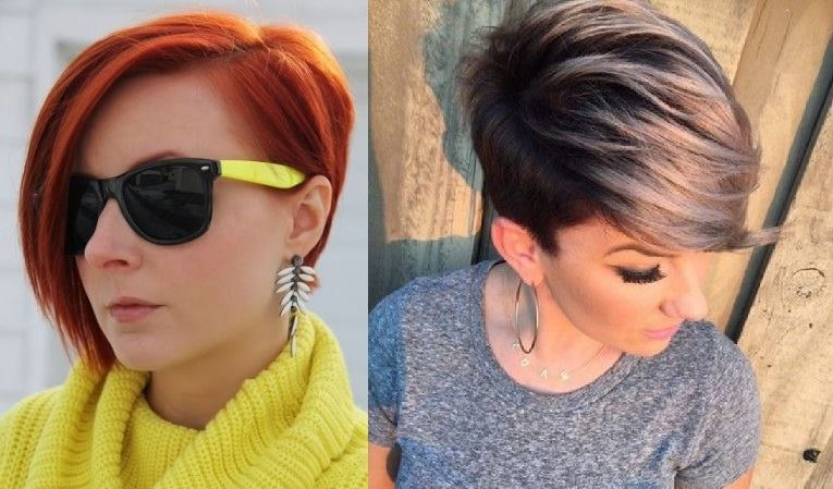 short cuts with asymmetric fringes: 20 trendy New models Hair Cut Trends