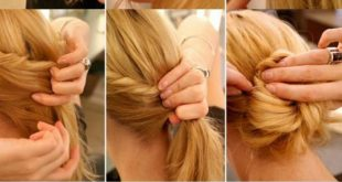 Hairdressing tutorial Fast Simple Hairstyles