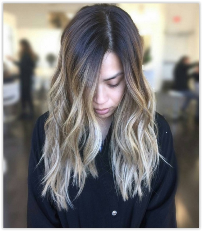 Ombre Hair and Honey Wicks: 20 Awesome Models New Hairstyle Trends