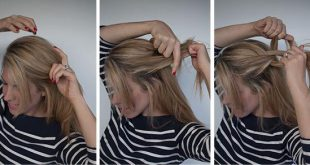 Pretty simple hairstyle Fast Hairdressing