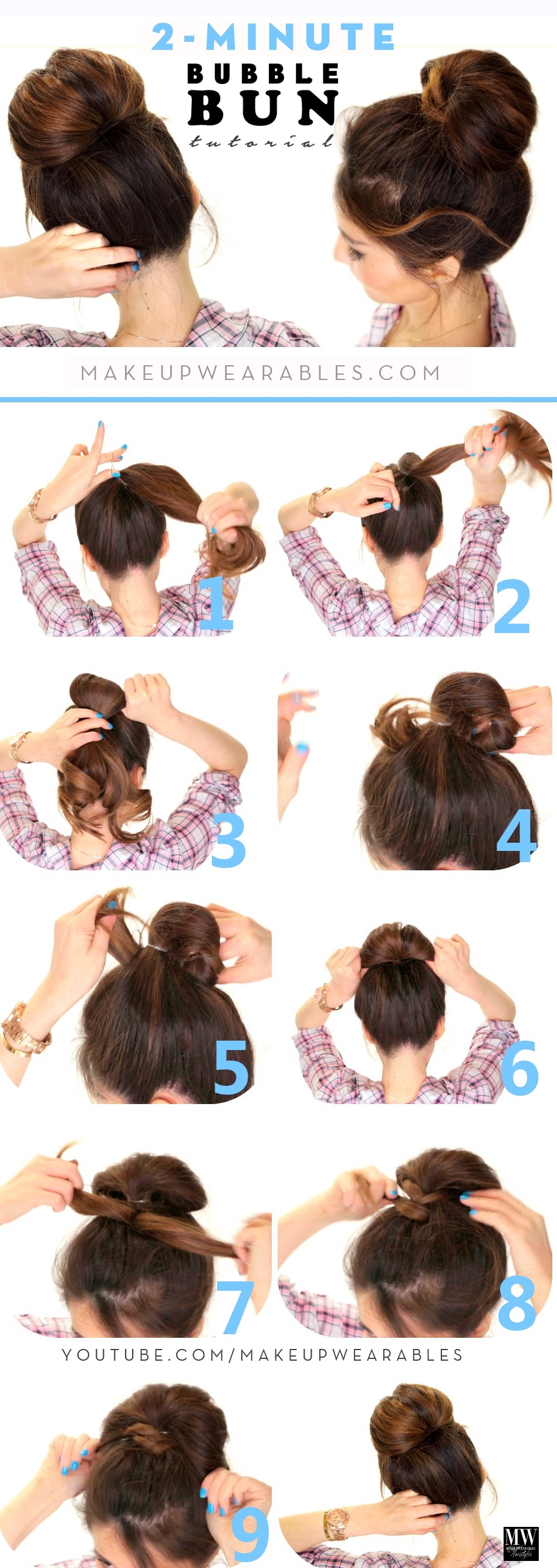 simple hairstyle to be even: practical and easy tutorials Fast Simple Hairstyles