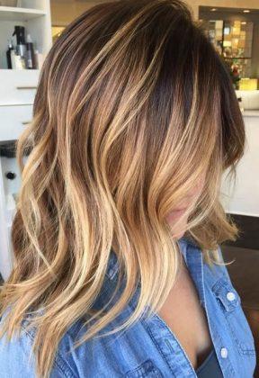 Beautiful Sweeps For Medium Hair Hair Color Ideas