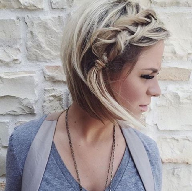 beautiful short hair hairstyle Fast Simple Hairstyles