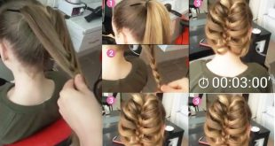 A Braided Ponytail for Little Girl Hairstyles with Braids