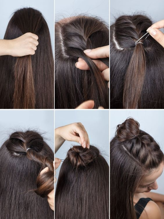 Simple and fast hairstyles: 20 beautiful models for this season Fast Simple Hairstyles