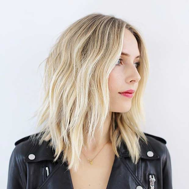 30 Inspired Mid-Length Hair Models New Hair Cut Trends