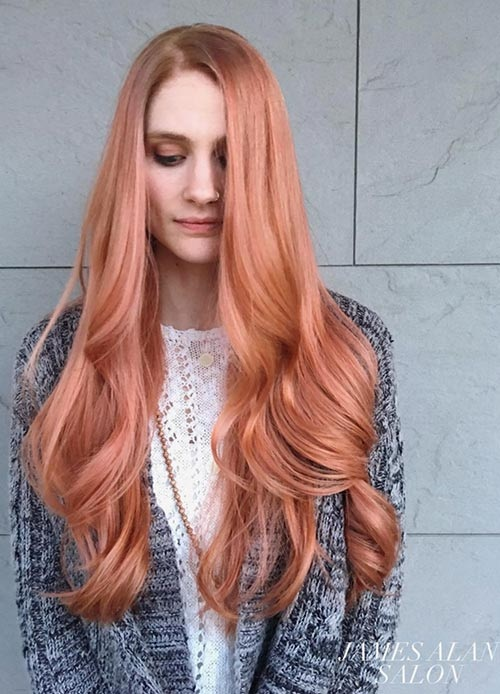 Rose Gold: The Top 40 Most Worn Models This Season! Hair Color Ideas