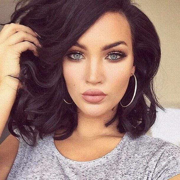 Square Cut: The Different Styles and Colors - 30 Models in Photos Hair Cut Trends