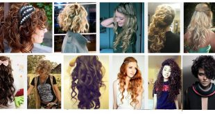 26 Curly Hairstyles Will Give You Wish to Have Nice Curls! New Hairstyle Trends