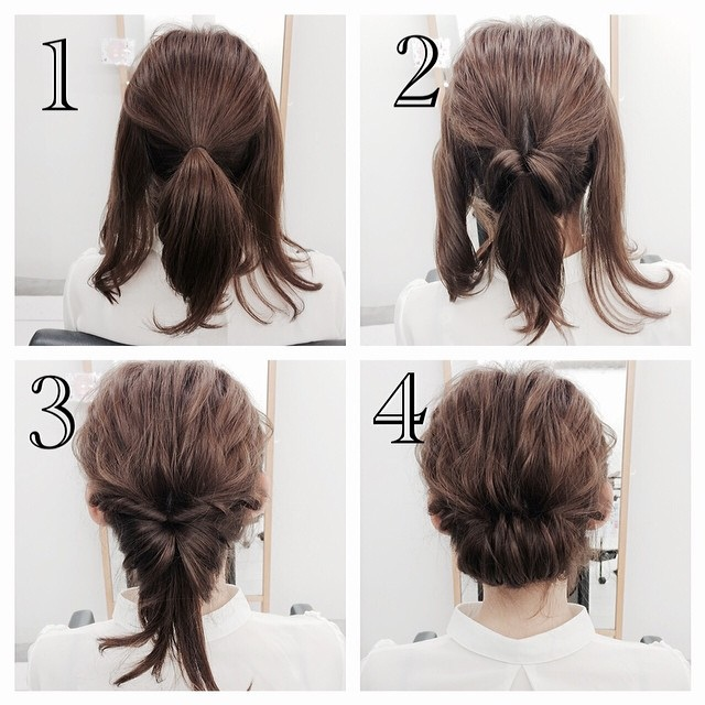 Easy and Convenient Hairstyles in Less than 5 Minutes For Short and Medium Hair Fast Simple Hairstyles