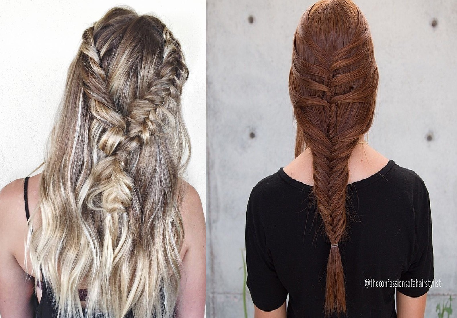 Beautiful hairstyles with braid trend summer New: inspire yourself Hairstyles with Braids