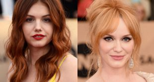 This Color is The Favorite For The Star in New Hair Color Ideas