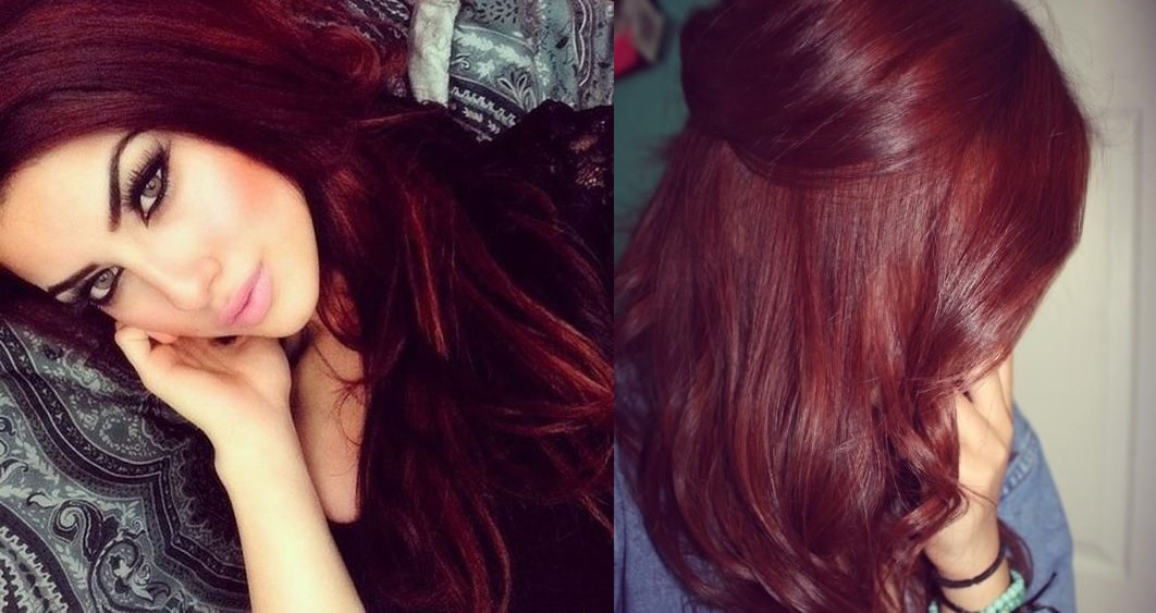 A beautiful hair color