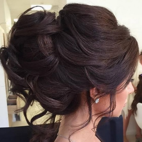 Fashion Party Hairstyles To Celebrate Christmas Hairdressing