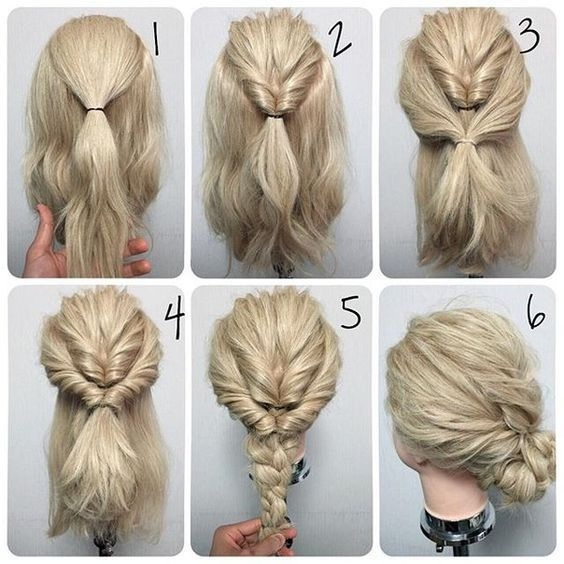 Quick And Easy Hairstyles For Medium Length Hair Photos Of