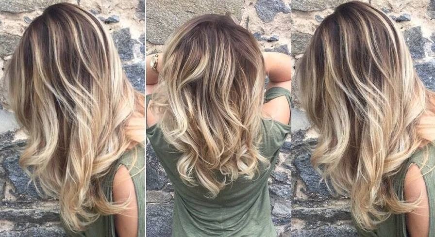 Hair and Ombre Hair on Medium Length Hair: The Best Models Hair Color Ideas