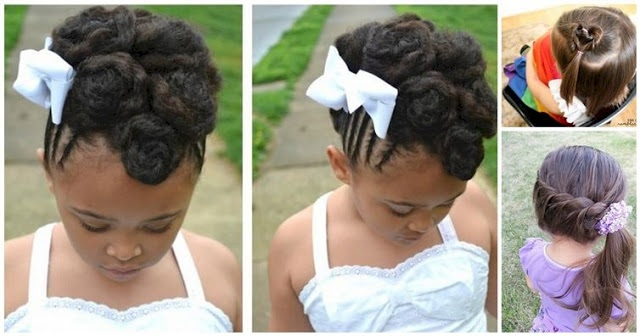 Beautiful Hairstyles For Your Little Girl - Inspire You Hairstyles For Little Girls