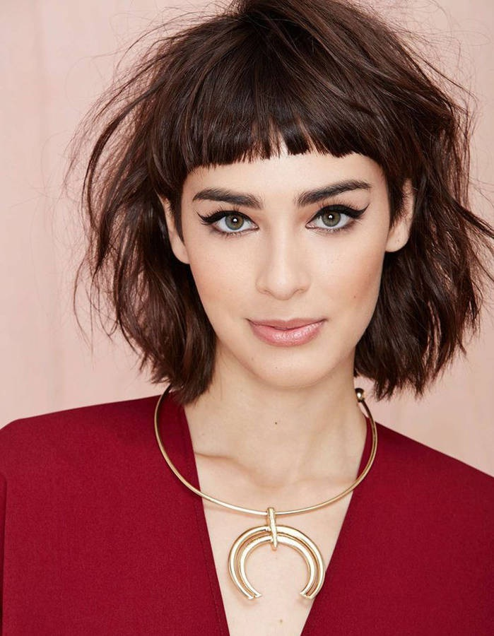 The Gradient Square Cup: Our Models To Wear It This Summer Hair Cut Trends