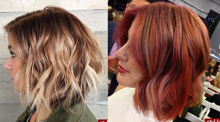 25 Sublime Colors for Square Cups Hair Color Ideas