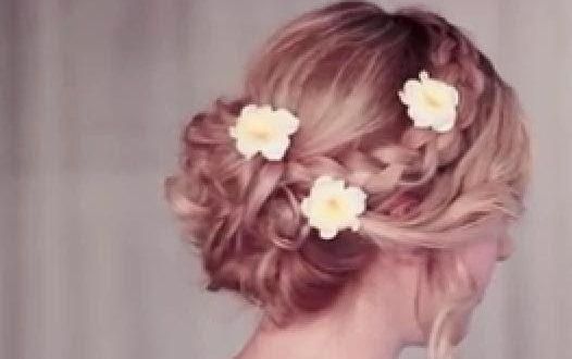 An Easy Tutorial For A Wedding Hairstyle Wedding Hairstyle