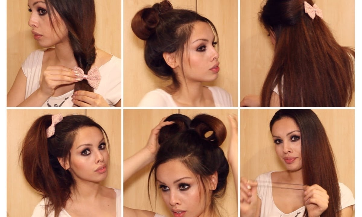 Simple And Fast Hairstyle Ideas 5 Minutes Chrono Simple