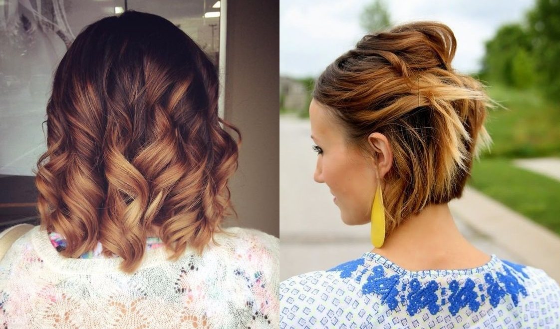 Short and Medium Hair With Impressive Sweeps: Choose The Best Pattern For This Summer Hair Color Ideas