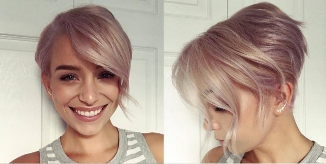 Beautiful Women's Short Cups: New Trend Collection Hair Color Ideas