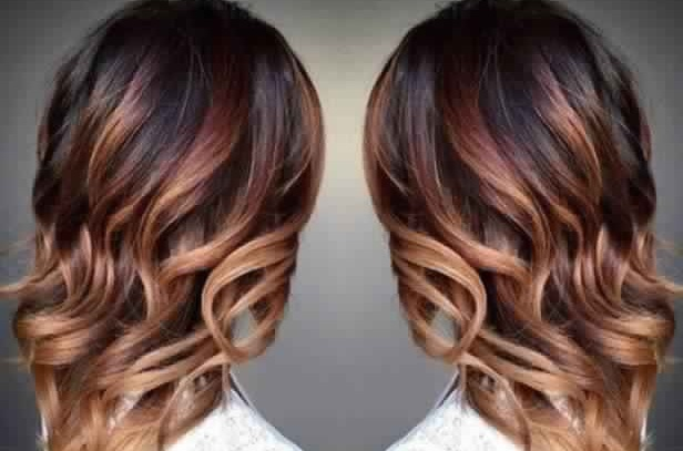 Here is the shaded brown caramel hair that you must wear this season! Hair Color Ideas