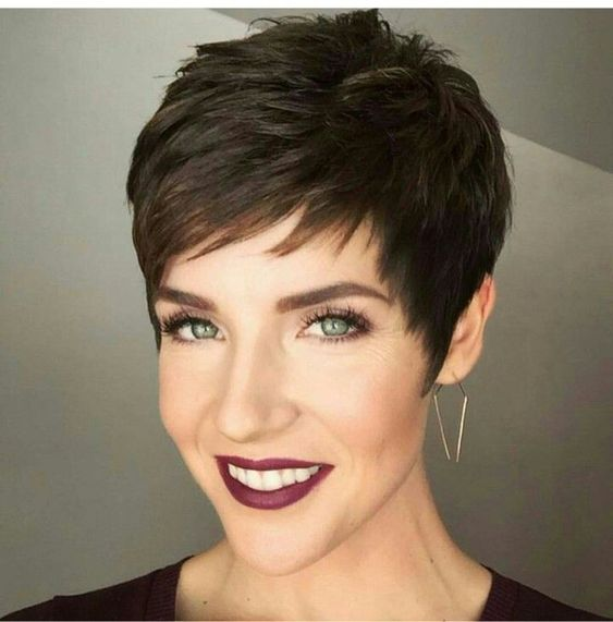 Hairstyle for very short hair Short Hairstyles