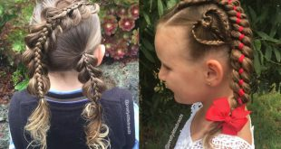 A Mom Changes Her Daughter's Hairstyle Every Day Hairstyles For Little Girls