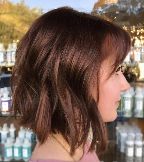 Here's Why Auburn Hair is Best: 40 Models That Work! New Hairstyle Trends